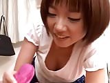 Japanese Nylon Panty Hand Job and Teasing