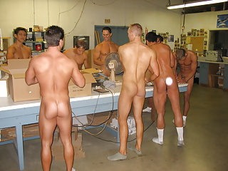 BTS- MANFORCE- Nude Factory Men Put Muscle into all Packages