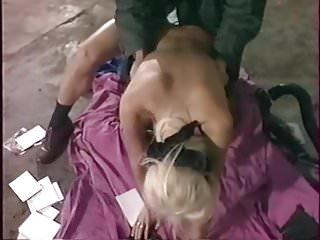 Blindfold sex dose...