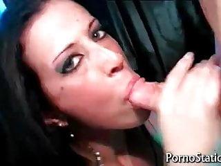 Skyler McKay rides huge hard cock