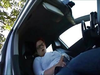 Masturbation an der Autobahn