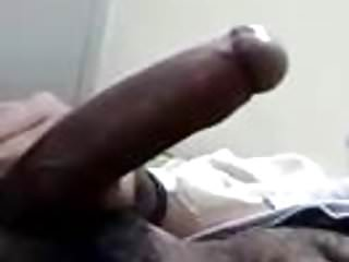 Wanks cock...