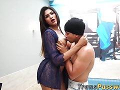 Bubble Culo Latina Trap Nailed Stiff After Providing Fellatio