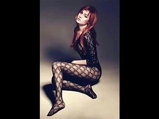 celebrity's stocking feet