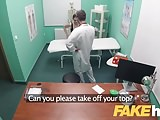 Fake Hospital Doctors thick dick stretches tight pussy