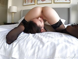 Blistering Facesitting Ended For Stepsister In A Continual Orgasm