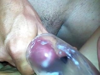 Cumshot in glass for my girl from slovenia...