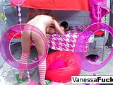 Vanessa Cage And Natasha Nice Have A Wild Lesbian Jail