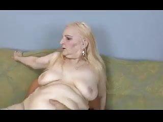 Granny marianne fucks with weirdo...