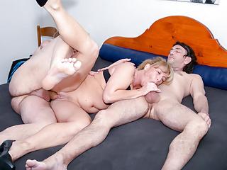 amateur euro german mature annette liselotte has hot mmf sexPorn Videos