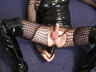 Dildo fuck and thigh boots...