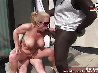 private  housewife German gangbang tits big boobs milf