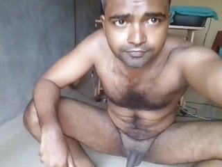 mayanmandev showing his naked hairy body part 27