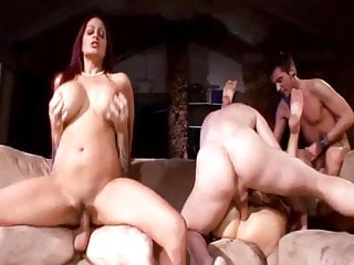 Ava & Kayla Fucked Hard by Three Young Guys and Facialized!