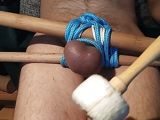 The start of the whipping balls – warming up