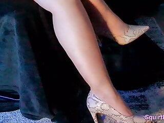 Geile Ehestute mit Leopumps High Heels