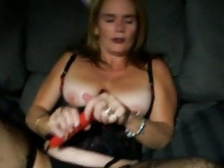 The Swinger Experience Presents Hot Mature wife loves playing with herself and teasing men