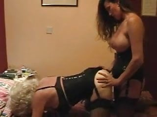 wife fucks crossdressing hubby