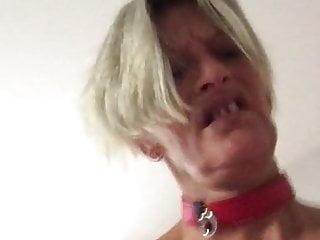 profonde salope Chienne  torture seins gorge brutal