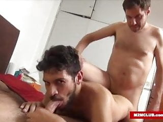 Twink fucked by bisex dudes...