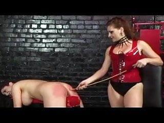 Lesbian slave who loves spanking...