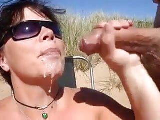 Double blowjob with two cim facials...