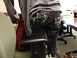 Hot sexy italian girl tight jeans and leggings