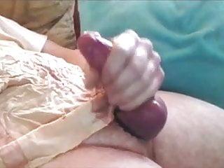 Nice cock big balls and cumshot...