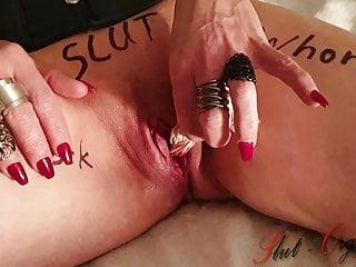 whore slut-orgasma celeste pulling panty out of her cuntPorn Videos