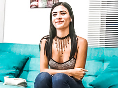 Slutty Latina Teen Excited for First Porn