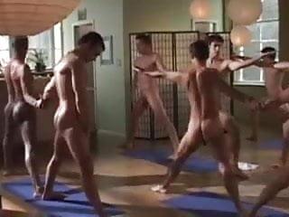 Partner yoga...