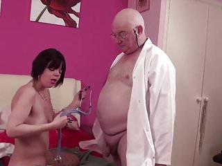 English women suck old fat cock...