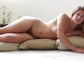 nude woman recite poem