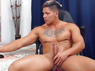 Hot Latino Jerking Off Until Cum – Special