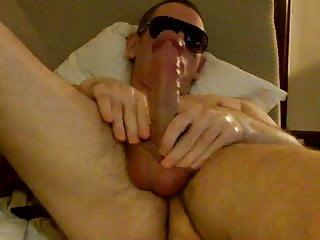 Naked big cumshot...