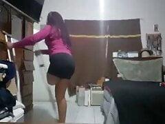 Sak Amputee hopping
