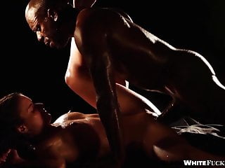 Anita bellini has an interracial sensual sex guy...