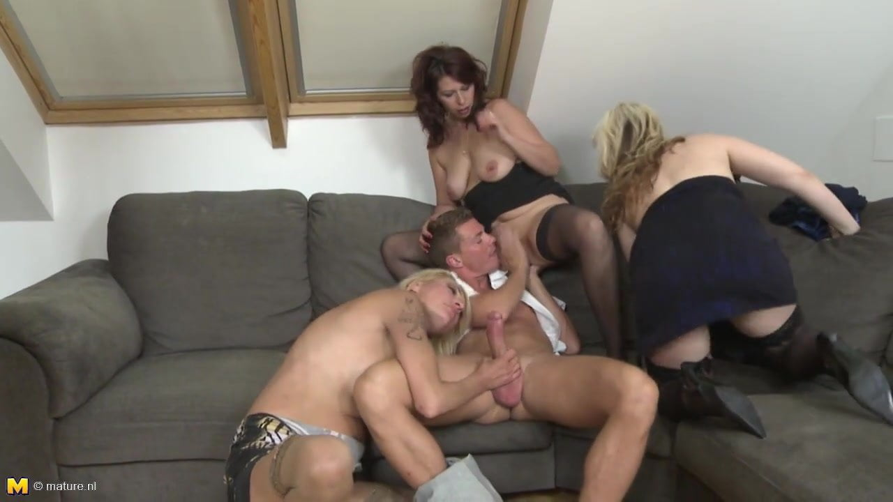 Mature Cum Drenched Fucking