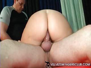 Club amateur mature swingers threesome...