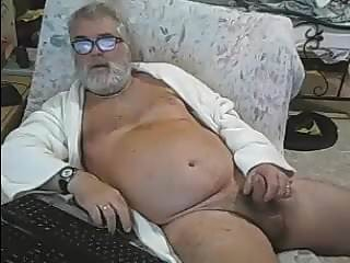Naked bearded daddy...