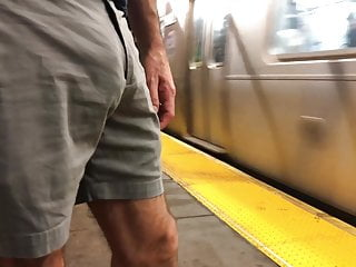 macho hot off jerks subway the in