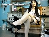 WM 580 Milf white Nylons Legs & Heels