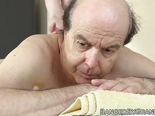 eating cock riding before cum masseuse grandpa Nubile