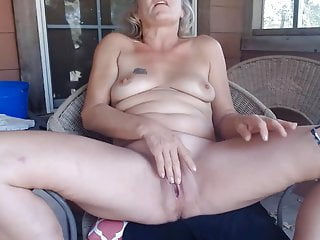 Hot mom blonde will strip and squirt all over