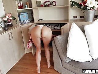 Horny latina milf gets fingered and fucked...
