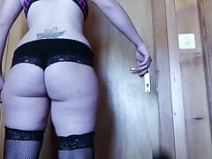 Pawg Wife Showing Off Her Curves