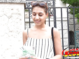 Cute latina teen fuck at street cast...