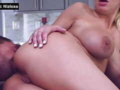 Cheating Wife almost Caught having Anal Sex