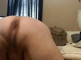 Gay chub twerks wishing cock was inside him.