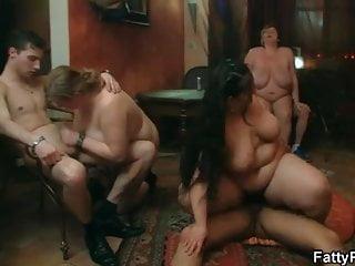Hot brunette bbw gets boned in various positions...